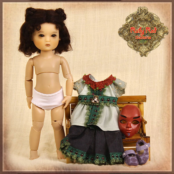 RubyRed Galleria Mia Doll Set