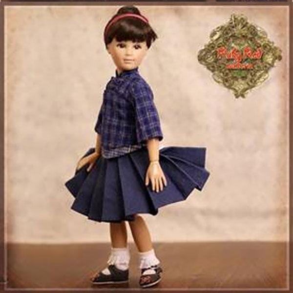 RubyRed Galleria Miu Miu Doll Set