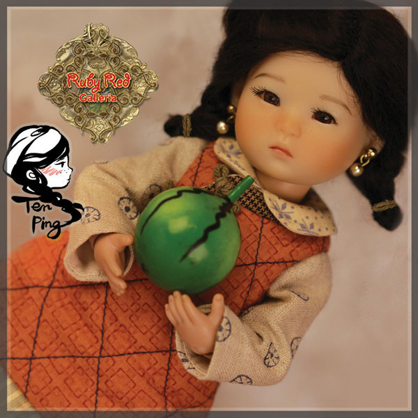 RubyRed Galleria Ten Ping 10th Edition Doll Set