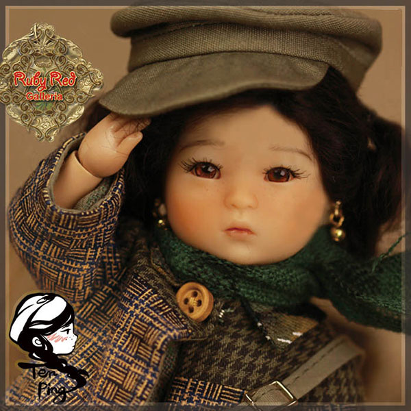 RubyRed Galleria Ten Ping 13th Edition Doll Set