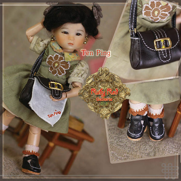 RubyRed Galleria Ten Ping 7th Edition Doll Set