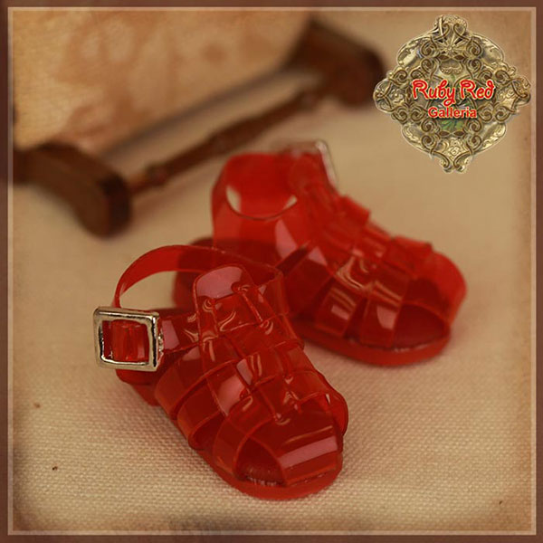 RubyRed Galleria Ten Ping PVC Sandals