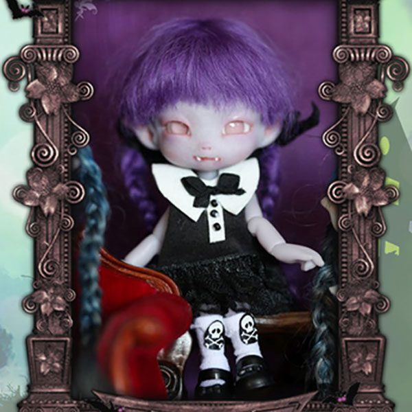 Charles Creature Cabinet Friday Winternight Tiny BJD