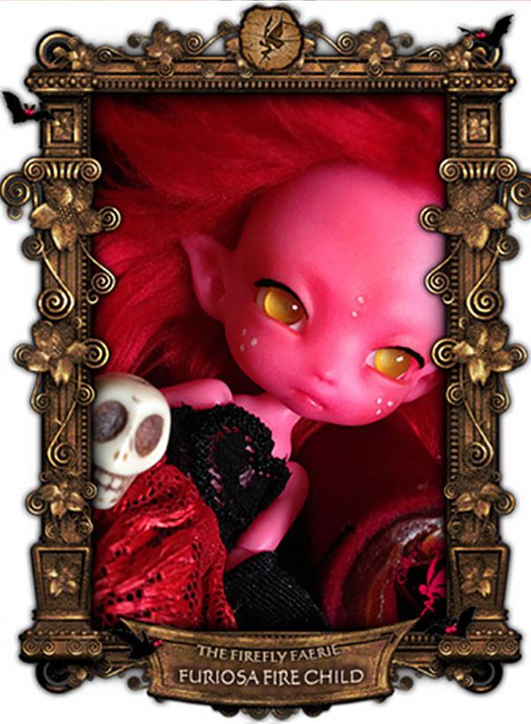 Charles Creature Cabinet Furiosa Tiny BJD LE