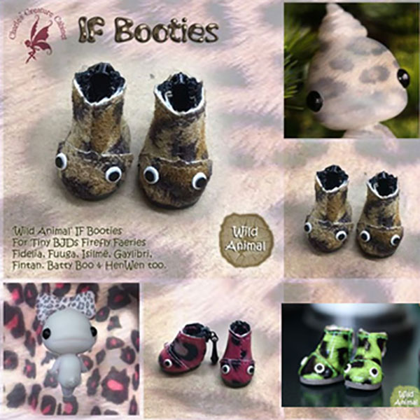 Charles Creature Cabinet IF Wild Animal Booties Tiny BJD