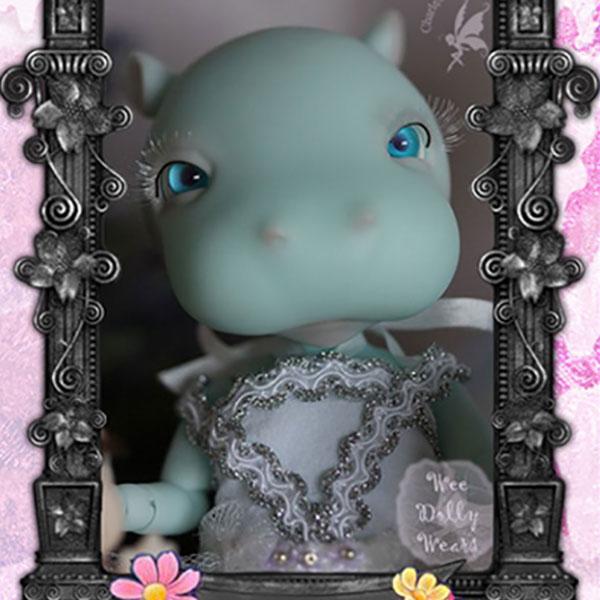 Charles Creature Cabinet Tiny BJD Princess Kaba