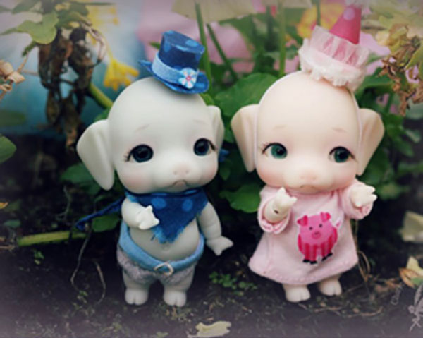 Charles Creature Cabinet Tiny BJD Pudge