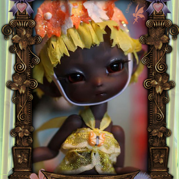 Charles Creature Cabinet Tropical Fidelia Tiny BJD LE