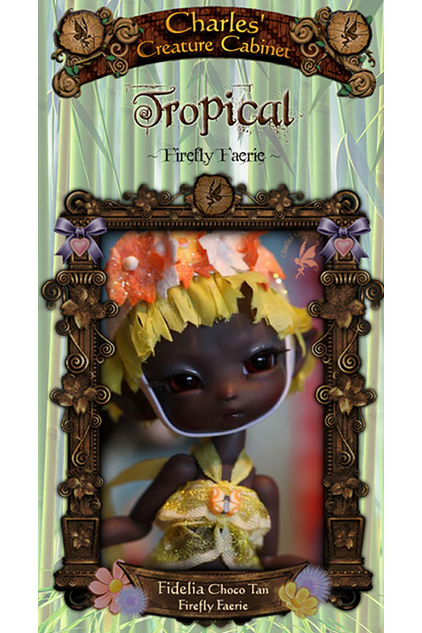 Charles Creature Cabinet Tropical Fidelia Tiny BJD LE