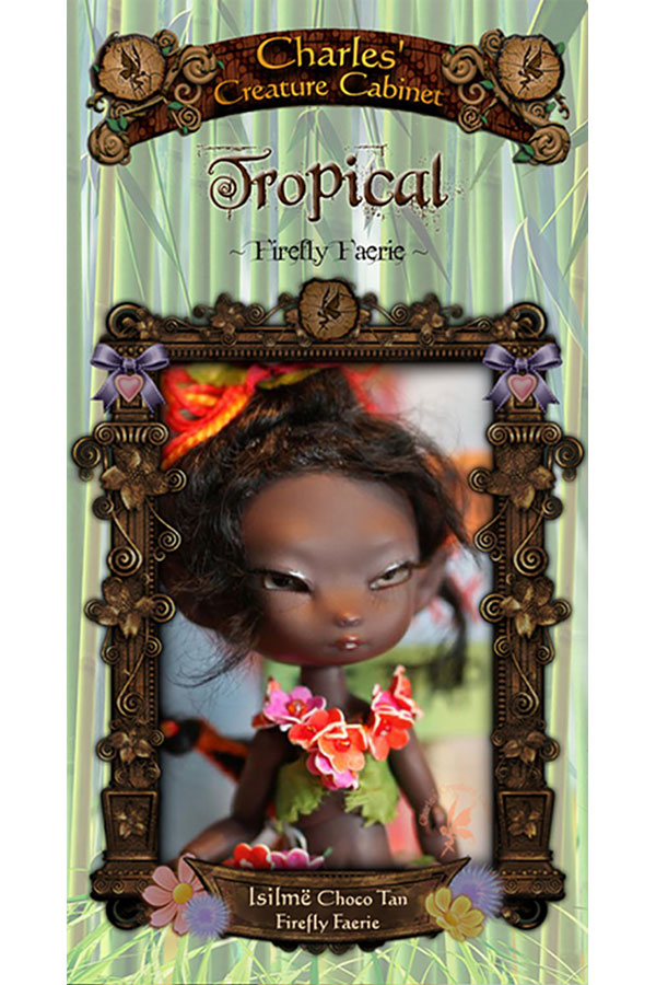 Charles Creature Cabinet Tropical Isilmë Tiny BJD LE
