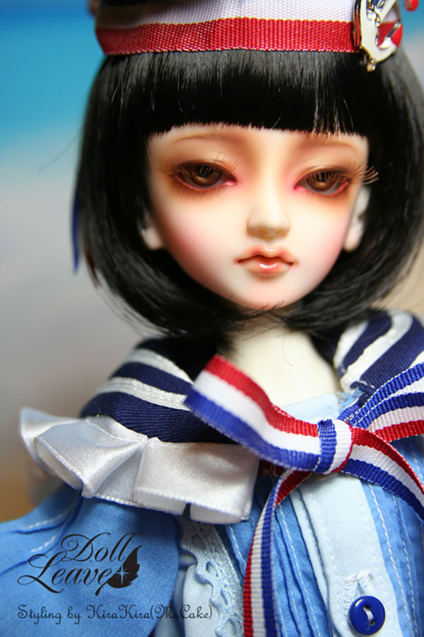 DollLeaves MSD Teenage Dream Blue