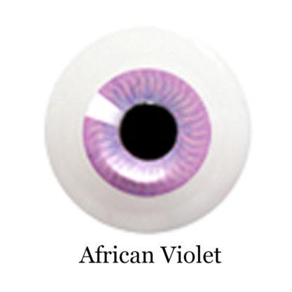 glib eyes acrylic african violet