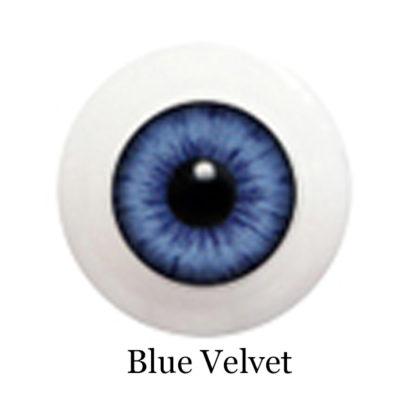 glib eyes acrylic blue velvet