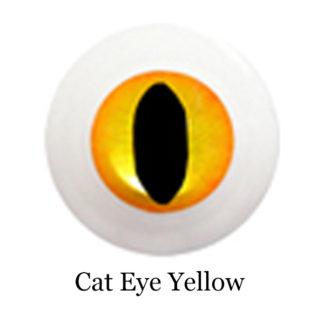 glib eyes acrylic cat eye yellow