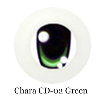 glib eyes acrylic chara cd02 green