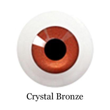 glib eyes acrylic crystal bronze