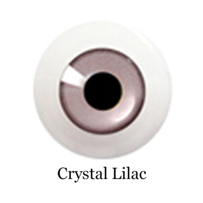 glib eyes acrylic crystal lilac