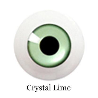 glib eyes acrylic crystal lime