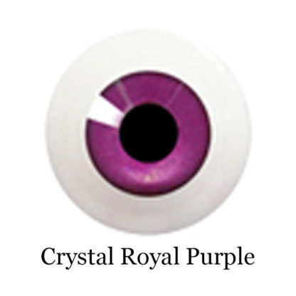 glib eyes acrylic crystal royal purple