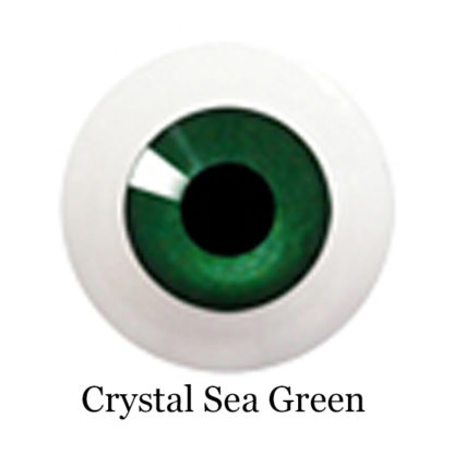 glib eyes acrylic crystal sea green