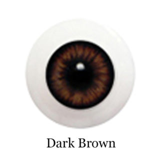 glib eyes acrylic dark brown