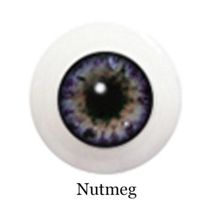 glib eyes acrylic nutmeg