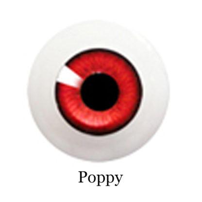 glib eyes acrylic poppy