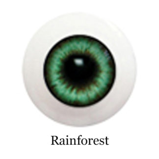 glib eyes acrylic rainforest