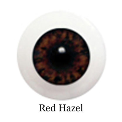 glib eyes acrylic red hazel