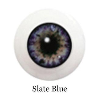 glib eyes acrylic slate blue