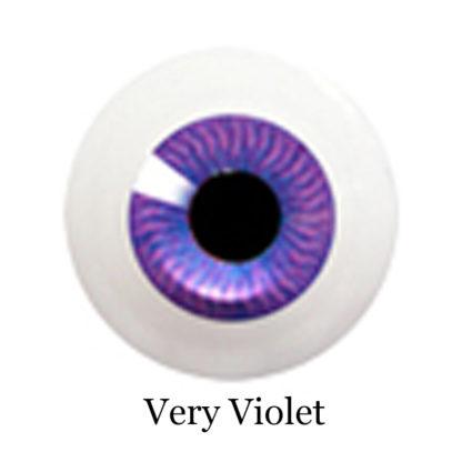 glib eyes acrylic very violet