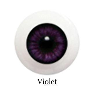 glib eyes acrylic violet