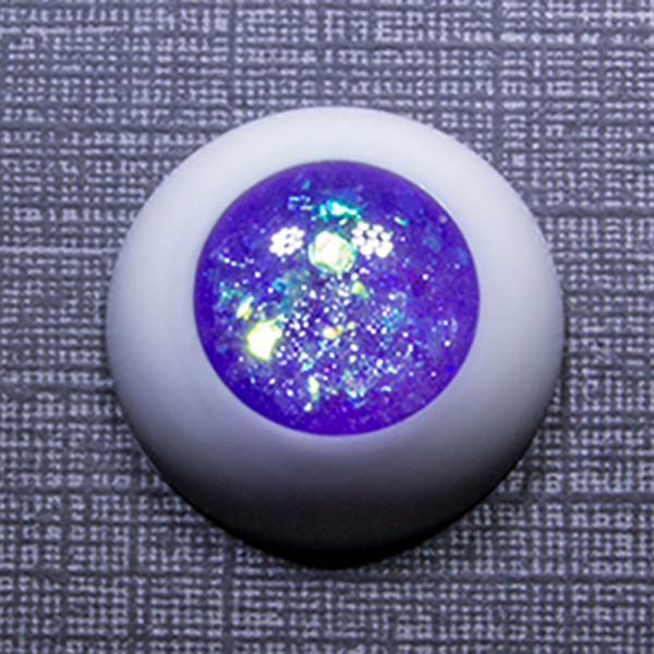 Sprouty Eyes BJD Amethyst No Pupil 8mm 10mm 12mm 14mm