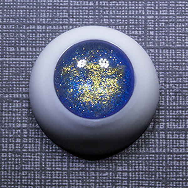 Sprouty Eyes BJD Cobalt Gold No Pupil 8mm 10mm 12mm 14mm