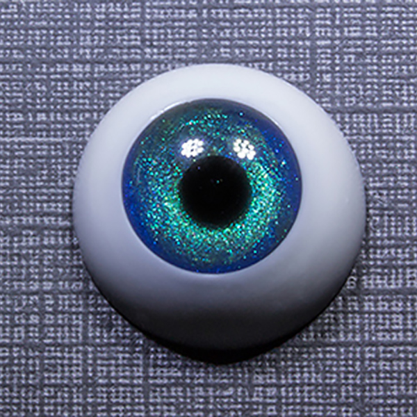Sprouty Eyes BJD Cobalt Green Black Pupil 8mm 10mm 12mm 14mm