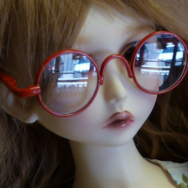 Style Eyes Glasses BJD Pippi Red Blythe MSD SD