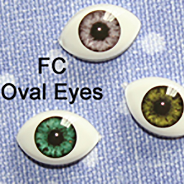 Almost Real Eyes BJD Style OFC High Dome Half Oval