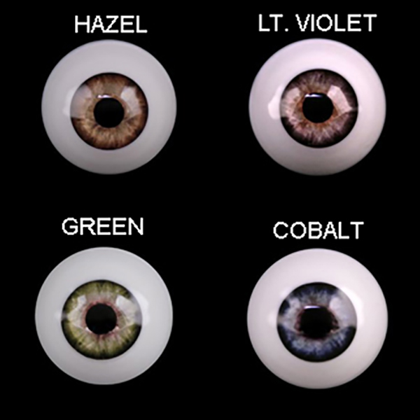 Almost Real Eyes BJD Style RSD High Dome Half Round