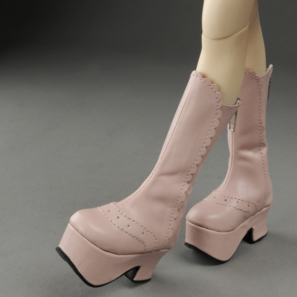 Dollmore MSD Pink Maja Boots Shoes