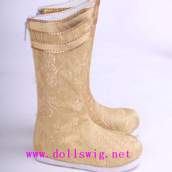 Jinny MSD Gold Ming Boots Shoes