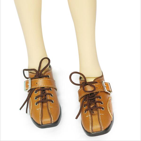 LeekeWorld MSD Tan Casey Shoes