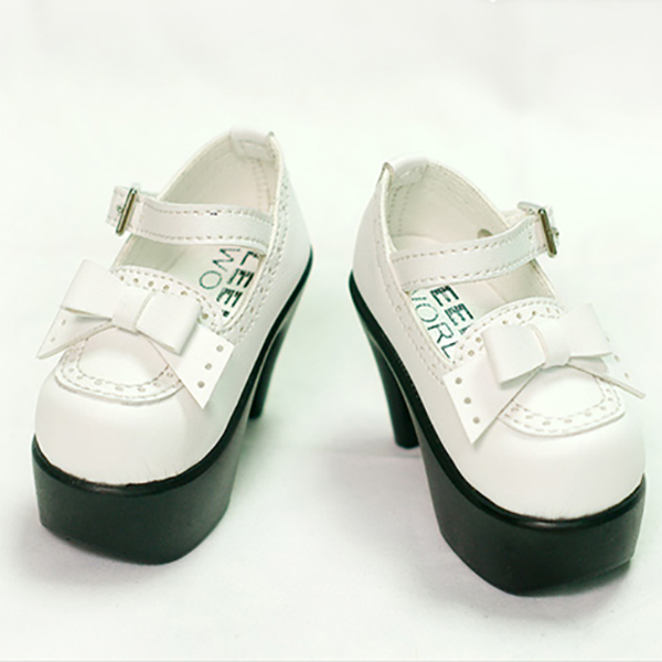 LeekeWorld White Gemma Shoes