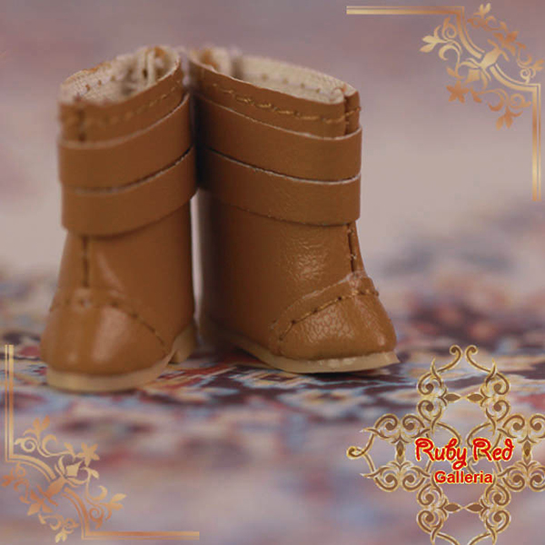 RubyRed Galleria Tiny Brown Boots Shoes