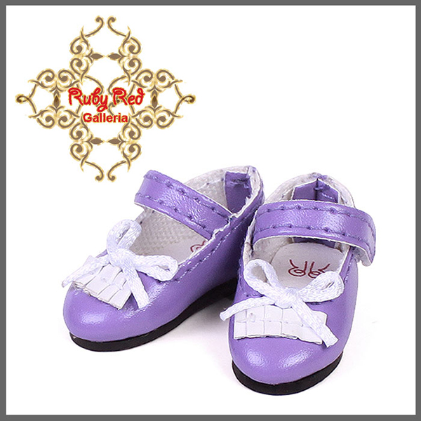 RubyRed Galleria Tiny Purple Mary Jane Shoes