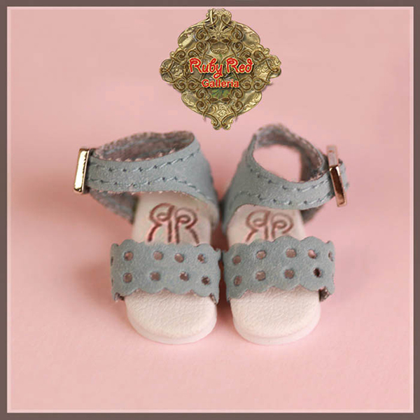 RubyRed Galleria Tiny Blue Sandals