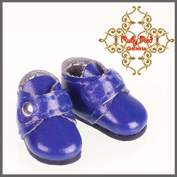 RubyRed Galleria Tiny Royal Blue Walking Shoes