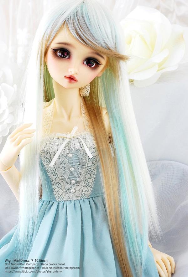 LeekeWorld Wig Mint Dress