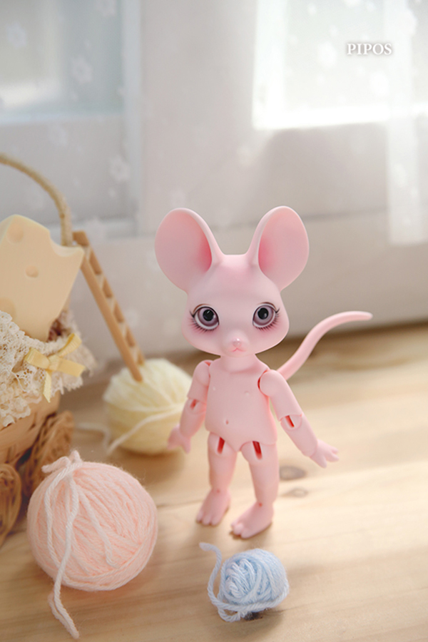 Pipos Jr PI Cheese Mouse Berry
