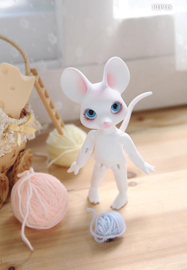 Pipos Jr PI Cheese Mouse Cream