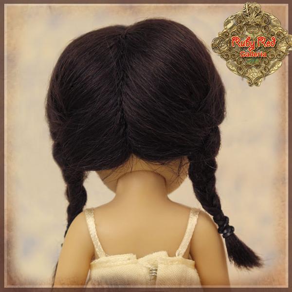 RubyRed Galleria Black Braids Wig HD0013A